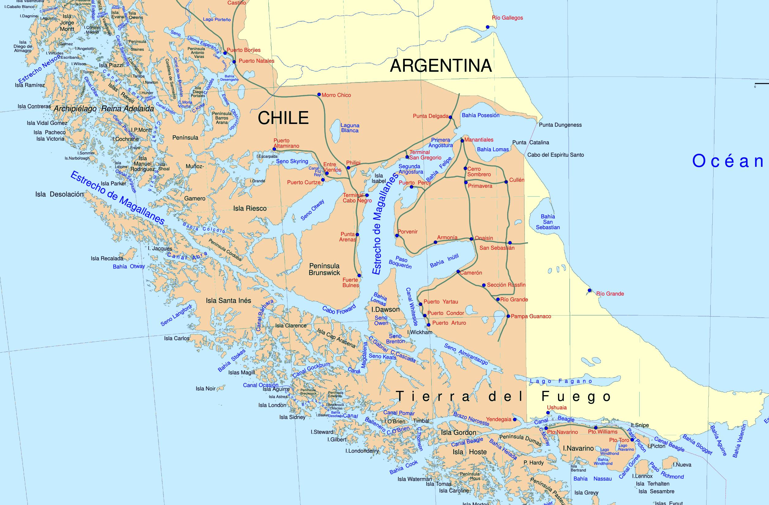 Magellan Strait | dustyrucksack